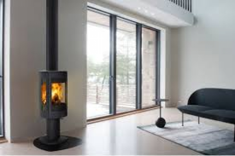 Чугунная печь-камин  JOTUL F 373 Advance в интерьере